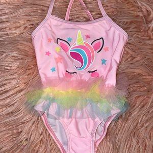 New babygirl Unicorn swimsuit - 12m